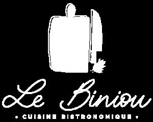 logo restaurant le biniou blanc